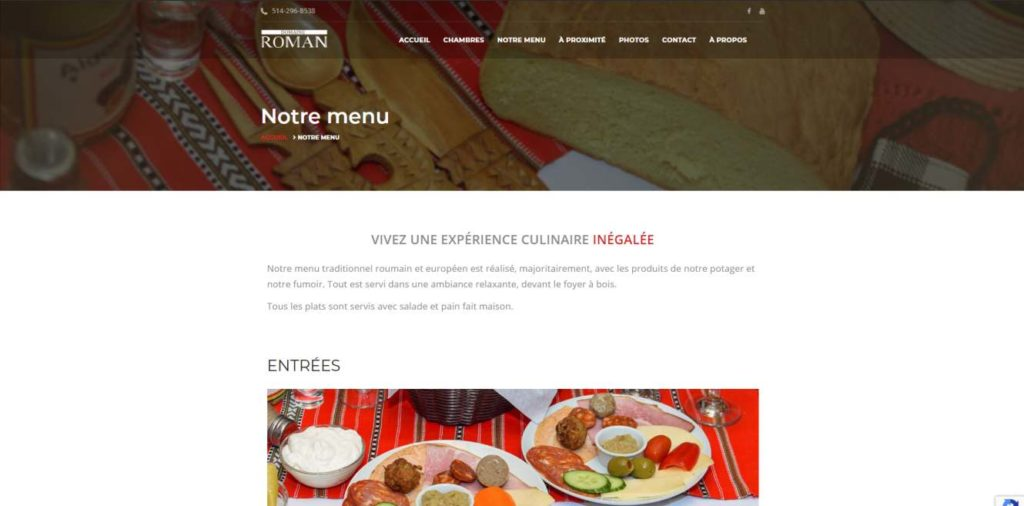 Domaine Roman - website by KLASS PROD